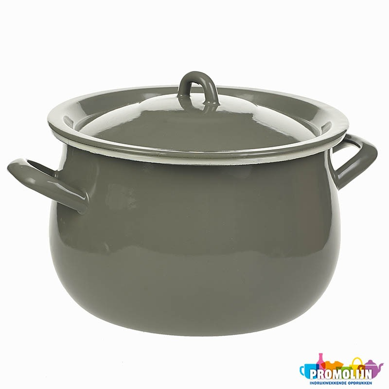 Emaille CookingPan20 Grey WL