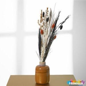 Vaasje Lichtbruin droogbloemen
