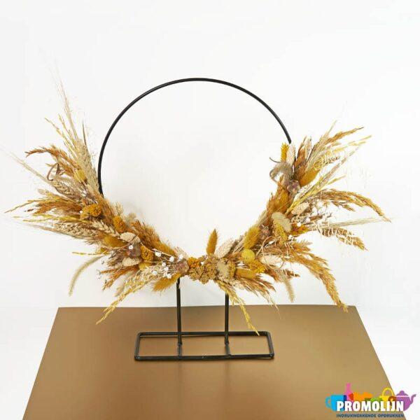 Droogbloemen Ring staand